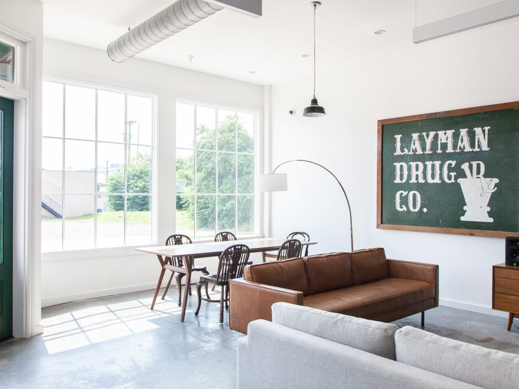 Layman Drug Company: Studio, Band Rehearsal Space, And Venue - AVVAY